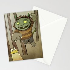 Wild Thing Jumping Stationery Cards