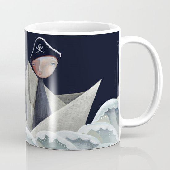 The Pirate Ship Mug