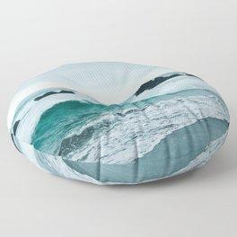 Pacific Ocean Floor Pillow