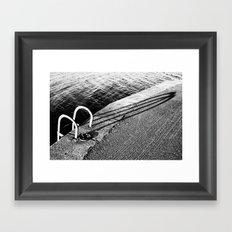 Groomsport Pier Framed Art Print
