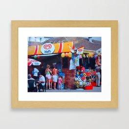 Seaside Magic Framed Art Print