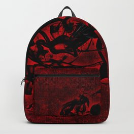The Red Raven Backpack