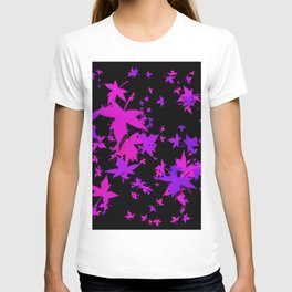 Fall Leaves in Purple T-shirt