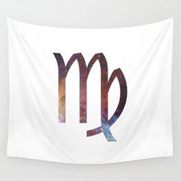 Starry Virgo Symbol Wall Tapestry