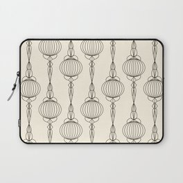 Art Deco No. 50 . Christmas decorations . Laptop Sleeve