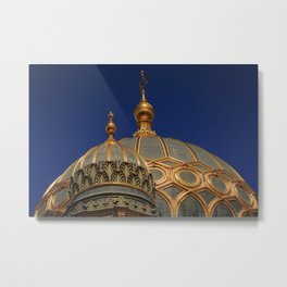 Berlin Synagogue Dome Metal Print