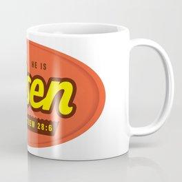 He Is Risen - Matthew 28:6 Coffee Mug