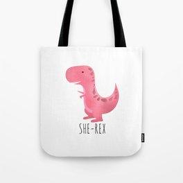 She-Rex Tote Bag