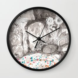 The Magical Pond Wall Clock