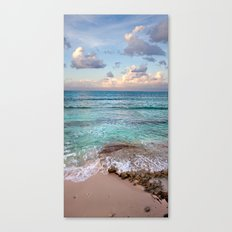 Caribbean sundown Canvas Print