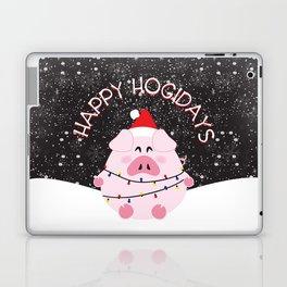 Happy Hogidays Laptop & iPad Skin