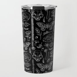 Witchcraft II [B&W] Travel Mug