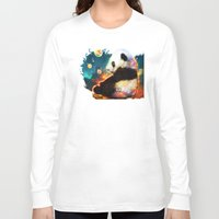 pandas Long Sleeve T-shirts featuring pandas dream by ururuty