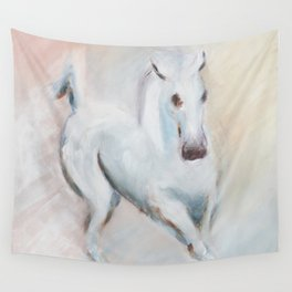 white horses Wall Tapestry