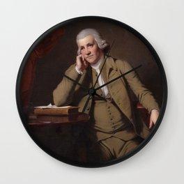 Joseph Wright of Derby - Jedediah Strutt Wall Clock