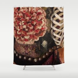 Between Two Mirrors Shower Curtain