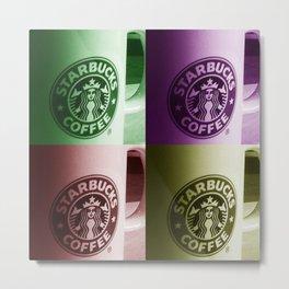 Starbucks  Metal Print