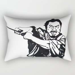 Toshiro Mifune//Yojimbo Rectangular Pillow