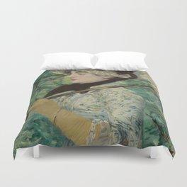 Edouard Manet - Spring Duvet Cover