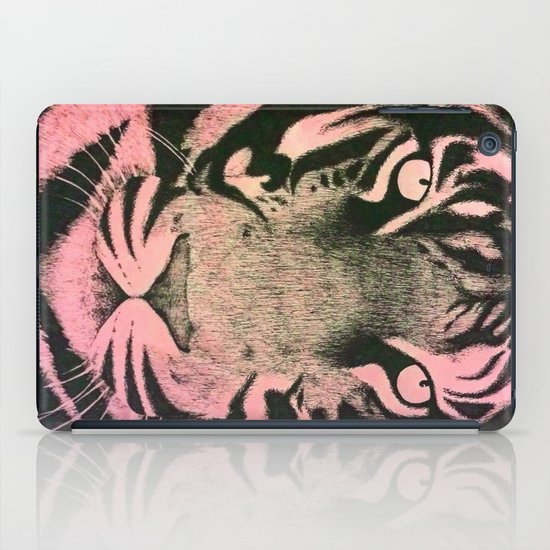 Be a Tiger (Pink) iPad Case