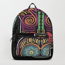 Boho Mask Backpack
