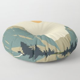 Yosemite Valley Floor Pillow