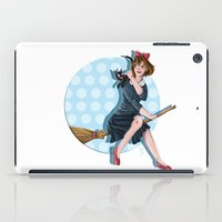 kiki iPad Cases featuring Modern Kiki by Nicola Davies
