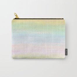pastel rainbow gradient loved by unicorns Carry-All Pouch