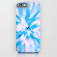 TIE DYE - LIGHT BLUE Slim Case iPhone 6s