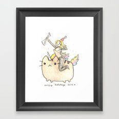 Merry xMas Master Magics! Framed Art Print