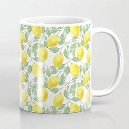 Lemon Leaves Artwork Coffee Mug