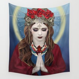 Ave Maria Wall Tapestry