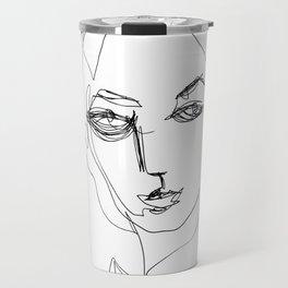 He knew he would be a beautiful woman. Travel Mug