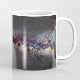 The Milky Way from Scorpio Antares and Sagitarius to North America Nebula in Cygnus Coffee Mug