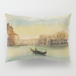 Early morning in Venice Pillow Sham