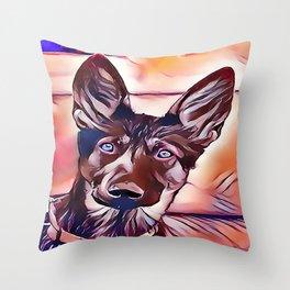 The King Shepherd Throw Pillow
