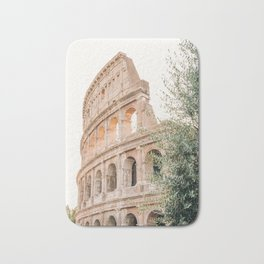 Morning at the Colosseum Bath Mat