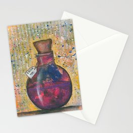 Drink me vial Stationery Cards