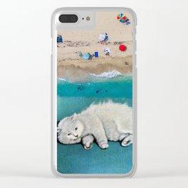 cat spirit Clear iPhone Case