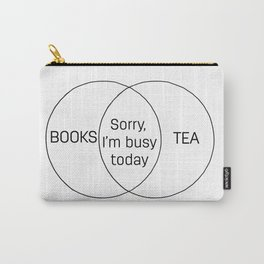 Books and Tea Carry-All Pouch