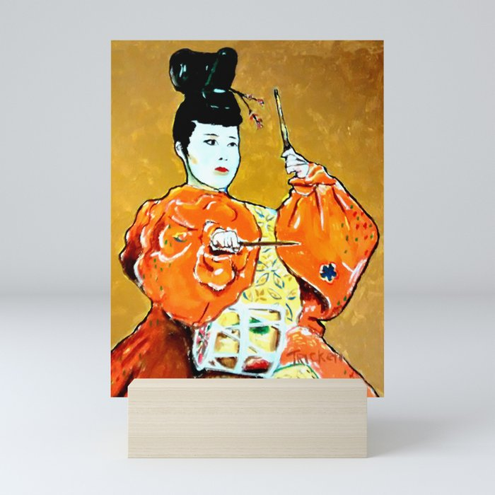 Drum Ceremony Mini Art Print