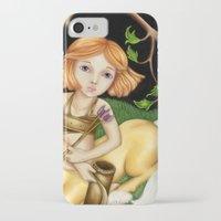 sagittarius iPhone & iPod Cases featuring Sagittarius by Paula Ellenberger