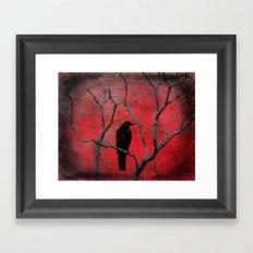 The Color Red Framed Art Print