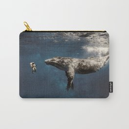 we exist in the same exhale. Carry-All Pouch