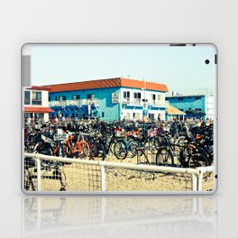 Bicycle Parking Lot Laptop & iPad Skin