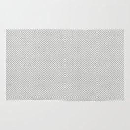 Stitch Weave Geometric Pattern in Grey Rug