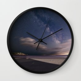 Milkyway at Good Harbor Beach Wall Clock