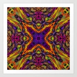 Crazy XXX Art Print