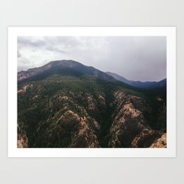 Oh Rocky Mountains Art Print