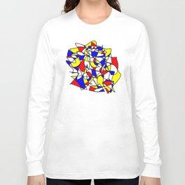 Mondrian Sneeze Long Sleeve T-shirt